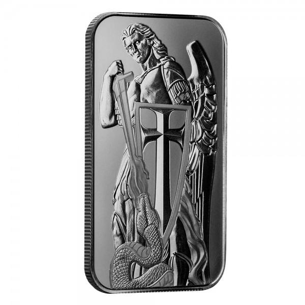 Scottsdale Mint, Archangel Michael, 1 Oz Silberbarren