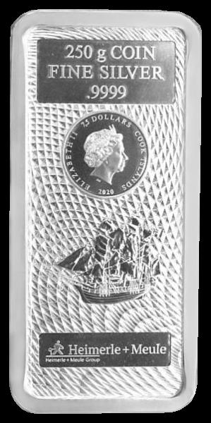 Cook Island, 250 Gramm Münzbarren, 2020