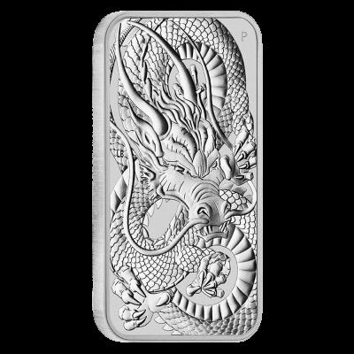 Dragon Rectangle, 1 Oz Silbermünze, 2021