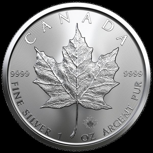 Maple Leaf, 1 Oz Silbermünze, 2021