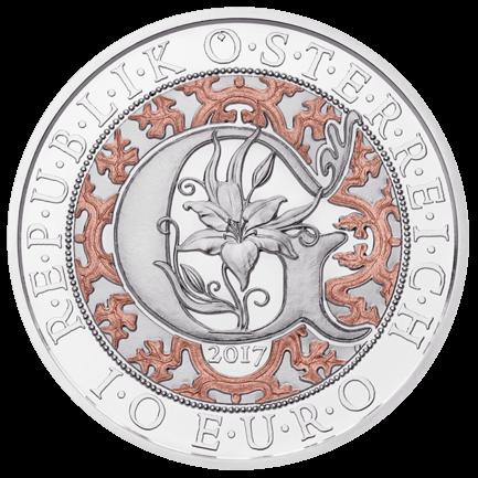 10 Euro Gabriel, 3/4 Oz Silbermünze PP, 2017