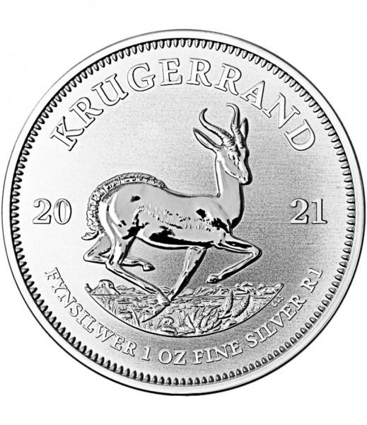 Krugerrand, 1 Oz Silbermünze, 2021