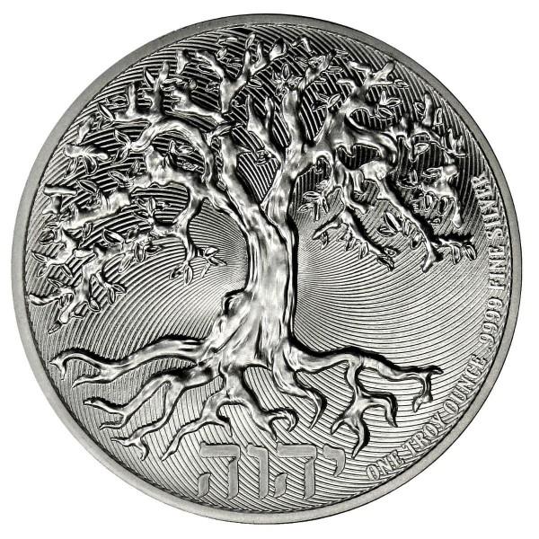 Truth Tree of Life, 1 Oz Silbermünze, 2021