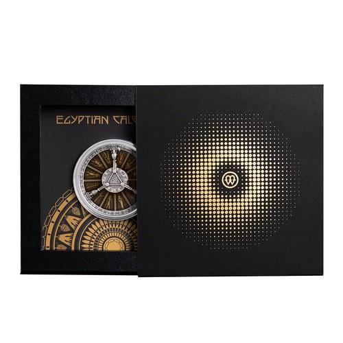 Ägyptischer Kalender, 2 Oz Silbermünze, 2021