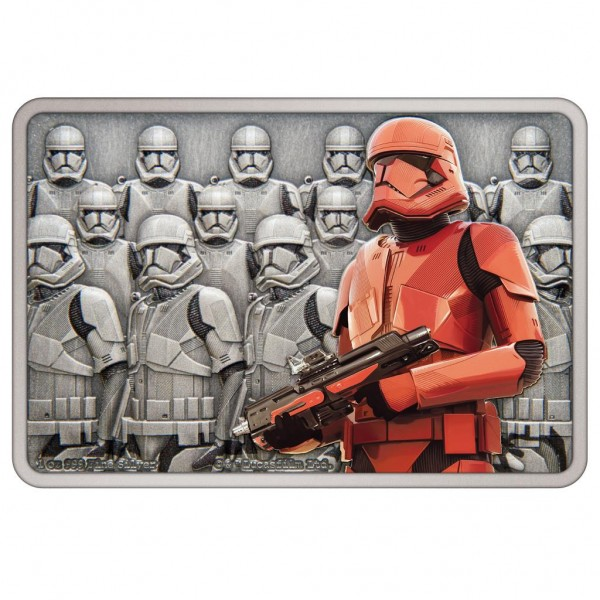 Star Wars Guards of the Empire Sith Trooper™, 1 Oz Silbermünze, 2021