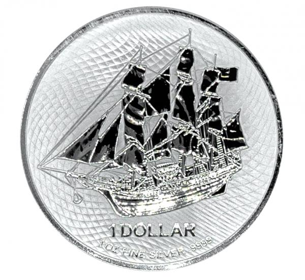 Cook Island Bounty, 1 Oz Silbermünze, 2021